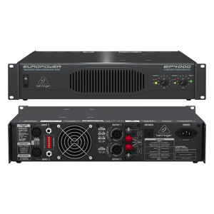 A picture of our Behringer EP4000 Power Amp