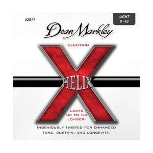 A picture of our Dean Markley Helix HD LT 9-42 Gauge Electric Guitar Strings