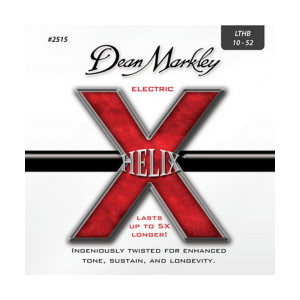 A picture of our Dean Markley Helix HD LTHB 10-52 Gauge Electric Guitar Strings