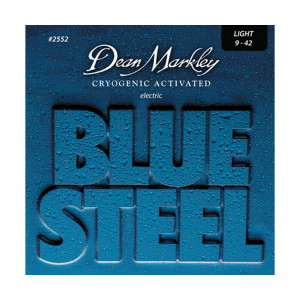 A picture of our Dean Markley Blue Steel LT 9-42 Gauge Electric Guitar Strings