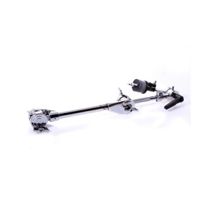 A picture of our DW Strait or Boom Cymbal Arm with Double Clamshell Clamp
