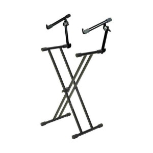 A picture of our Quiklok T22 X-Frame 2-tier Keyboard Stand