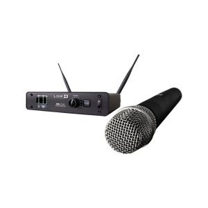 A picture of our Line 6 XD V55 Cordless Handheld Microphone System