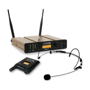 A picture of our Line 6 V70H Headset Wireless Microphone System