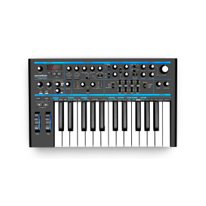 A picture of our Novation Bass Station II Analog Synthesizer
