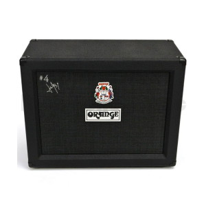 A picture of our Orange Amplifiers Jim RootSignature 2x12 Closed-Back Guitar Speaker Cabinet