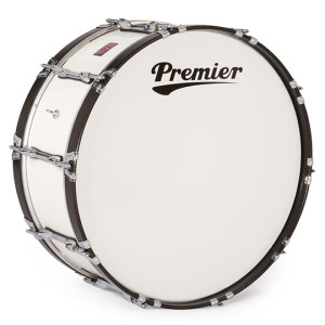 "A picture of our Premier Olympic 28"" x 14"" Marching Bass Drum All Inclusive"