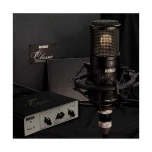 A picture of our Rode Microphones Classic II Limited Edition Variable Pattern Valve Microphone