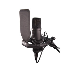 A picture of our Rode Microphones NT1 Cardioid Condenser Microphone Bundle