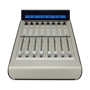 A picture of our Mackie Extender Pro 8 Channel Control Surface