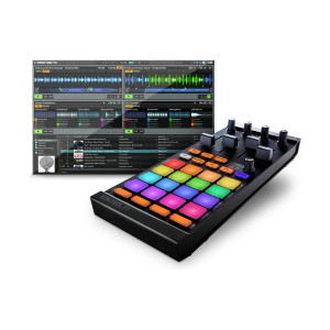 A picture of our Native Instruments Traktor Kontrol F1