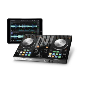 A picture of our Native Instruments Tractor Kontrol S2 MK II DJ System