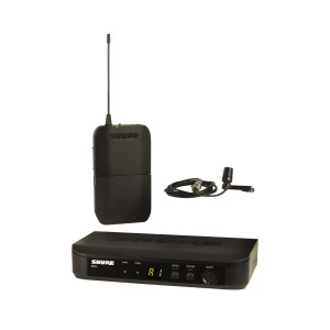 A picture of our Shure BLX14ECVL Lapel Wireless Microphone System