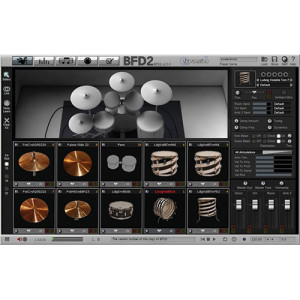 BFD2 Virtual Drum Software2