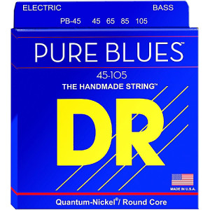 DR Pure Blues Bass 4 String set 45-105