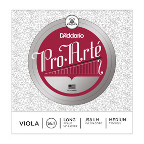 A picture of our D'Addario-Classical-Pro-Arte-Viola-String-Set at Marshall Music