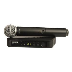 Shure BLX24SM58 Handheld Wireless System 1