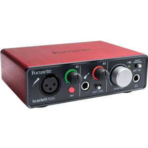 Focusrite-Scarlett-SOLO-USB-Audio-Interface