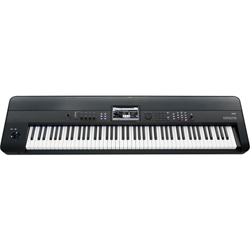 Home products korg krome 88 key synthesizer workstation