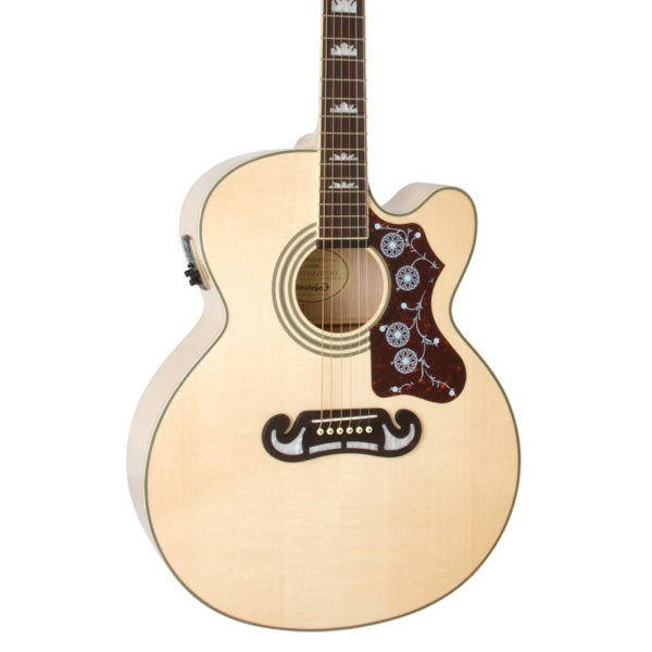 Epiphone EJ-200SCE Acoustic Guitar with Gold Hardware 1