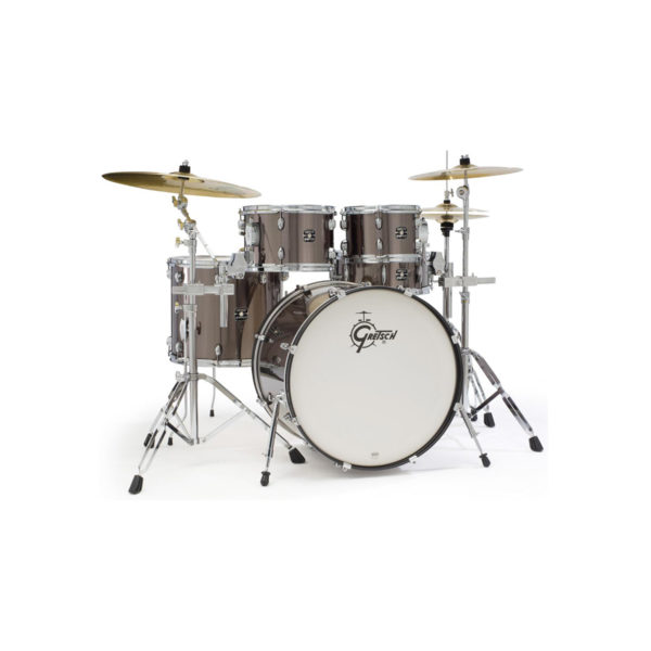 Gretsch Energy 5 Piece Drum Kit Grey