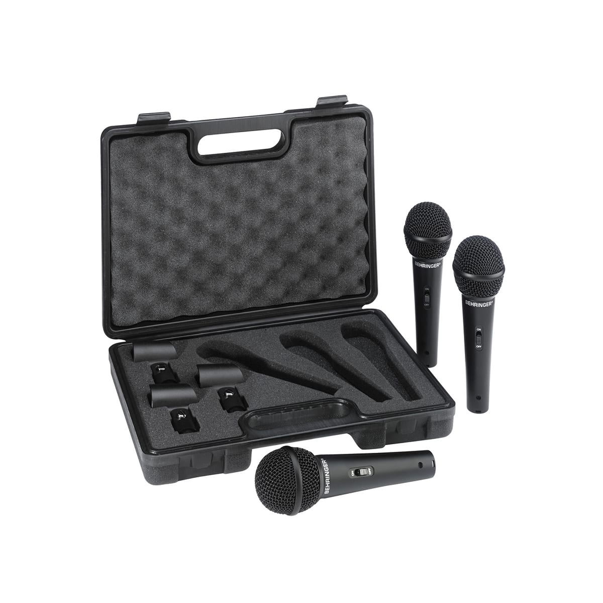 Behringer XM1800 3 Pack Microphone Kit 1