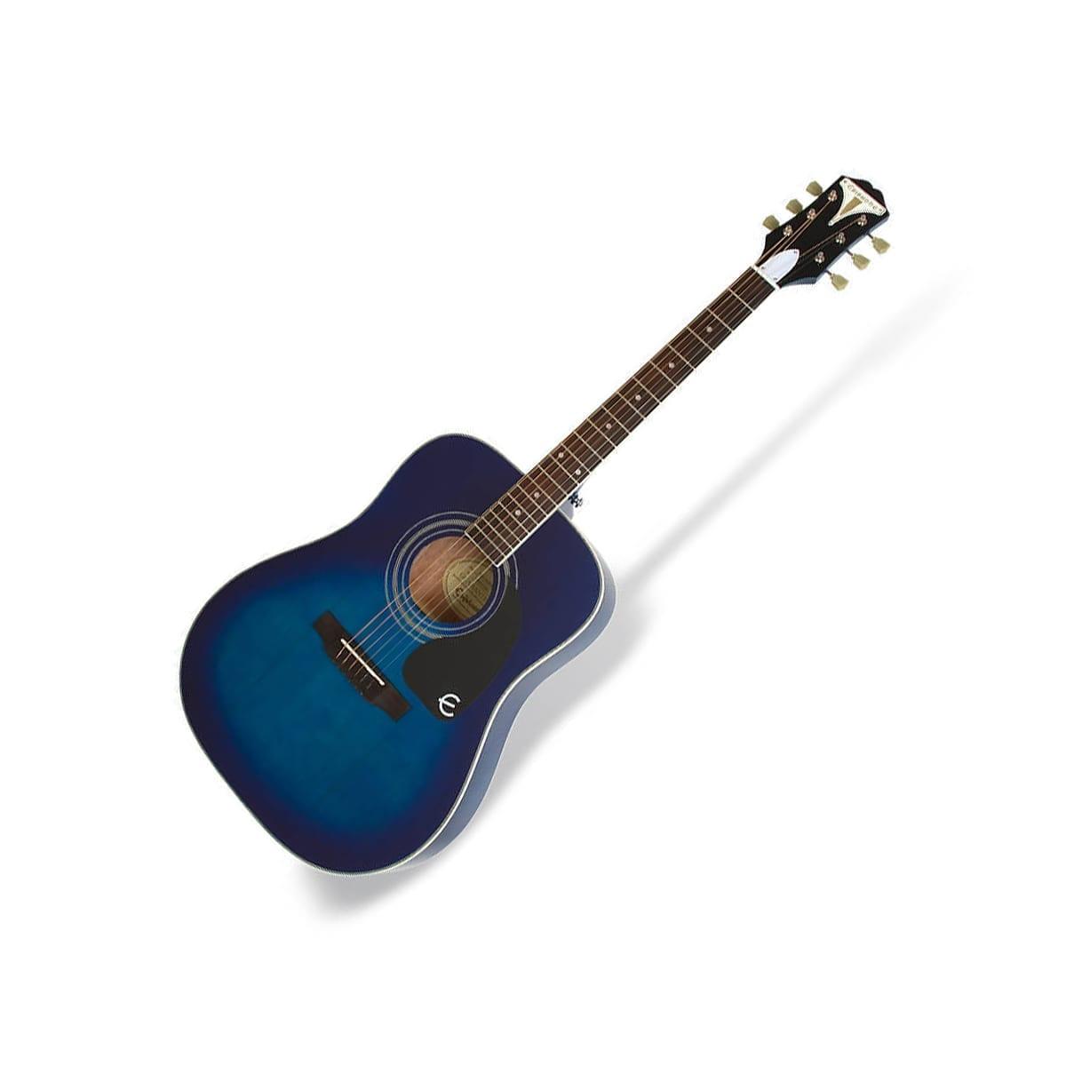 Epiphone Pro 1 Plus Acoustic Trans Blue