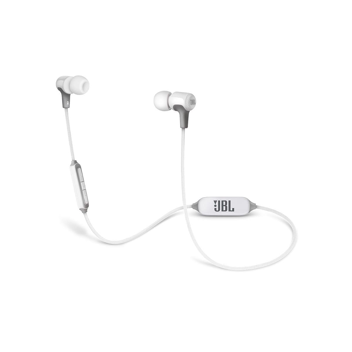 JBL E25BT White Bluetooth Headphone 1