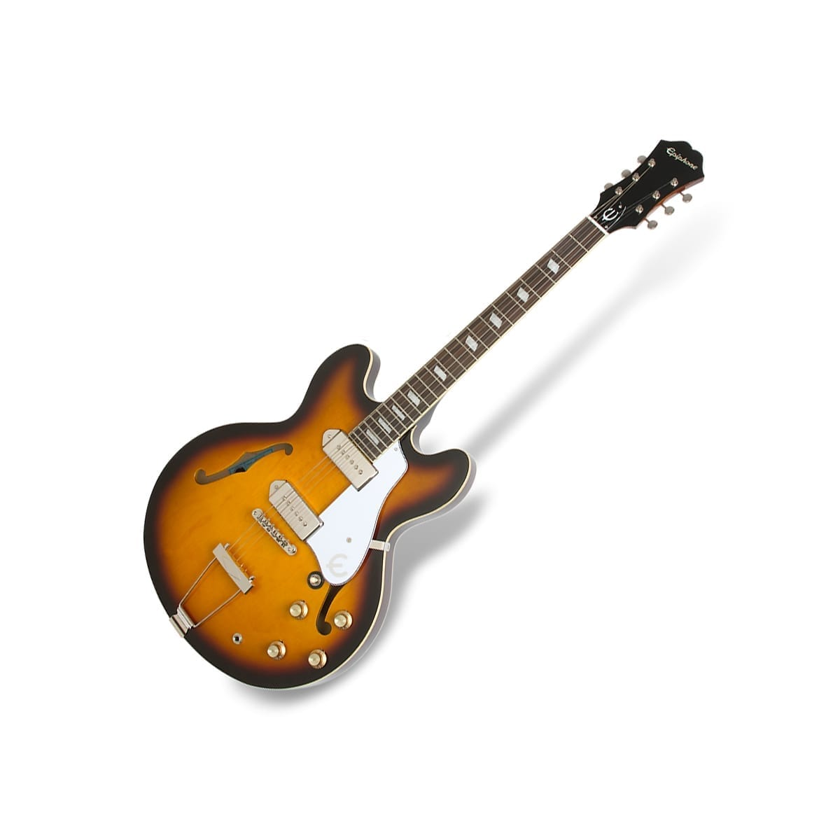 Epiphone Casino Vintage Sunburst Chrome Hardware