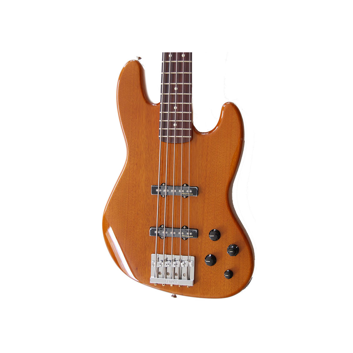 Fender Mexican Deluxe Active Jazz Bass - 5 String, Natural