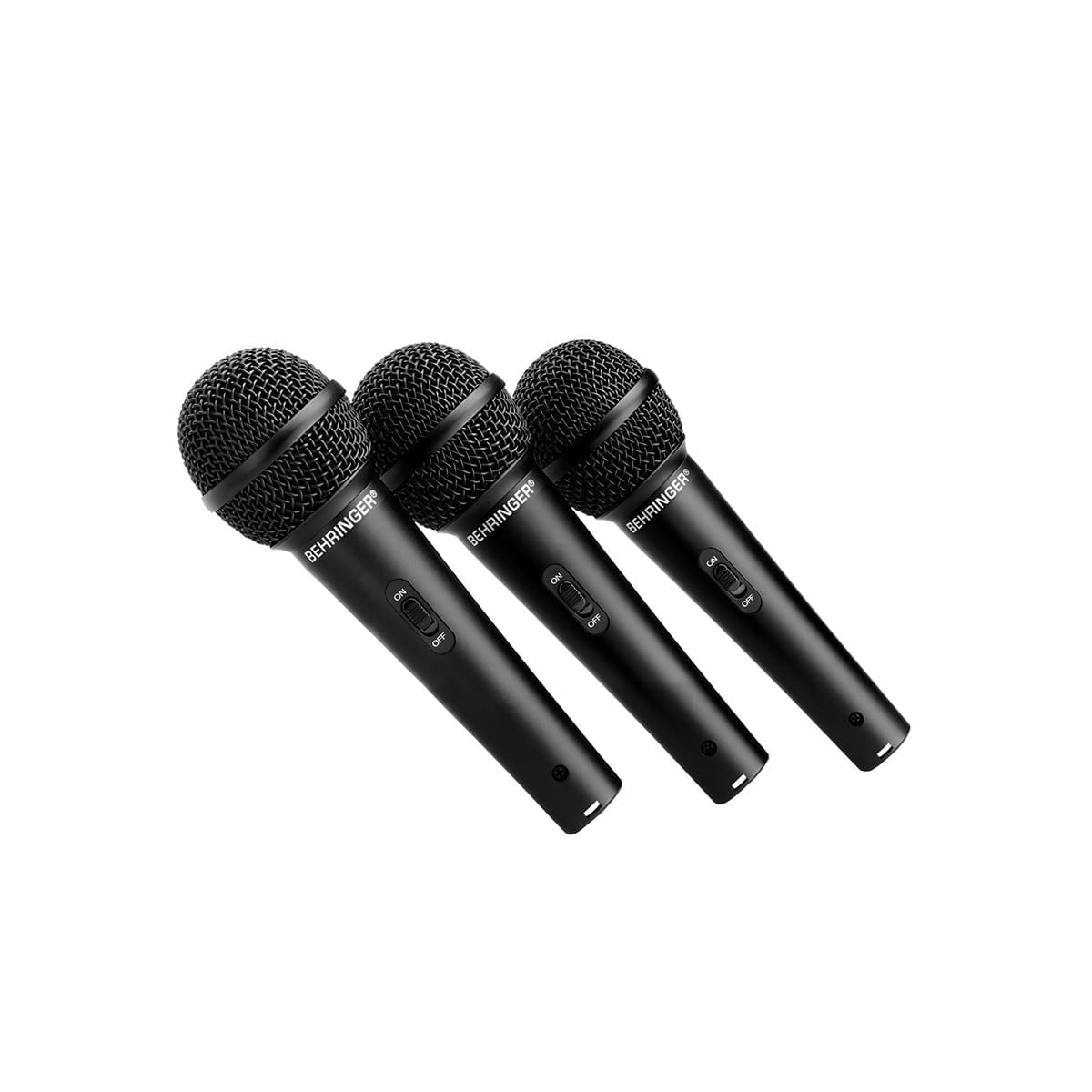 Behringer XM1800 3 Pack Microphone Kit