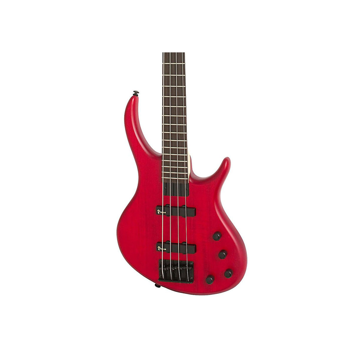 Epiphone Toby IV Bass Deluxe – Trans Red Gloss