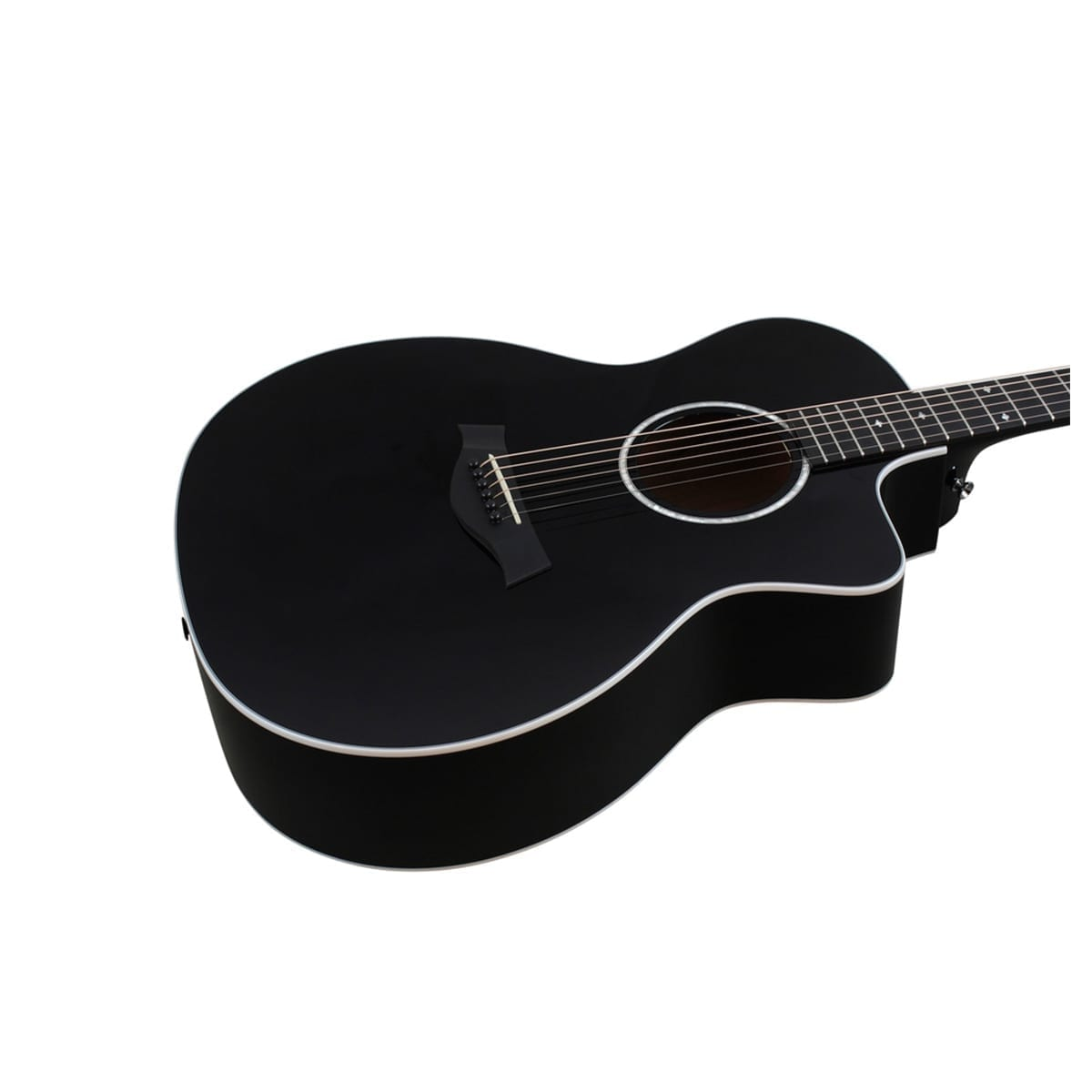 Taylor 214CE Black Deluxe Acoustic Guitar