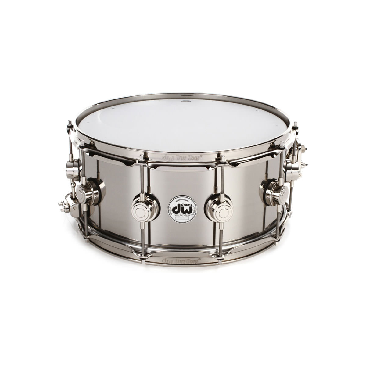 "DW 6.5""x14"" Collectors Snare Drum - Stainless Steel"