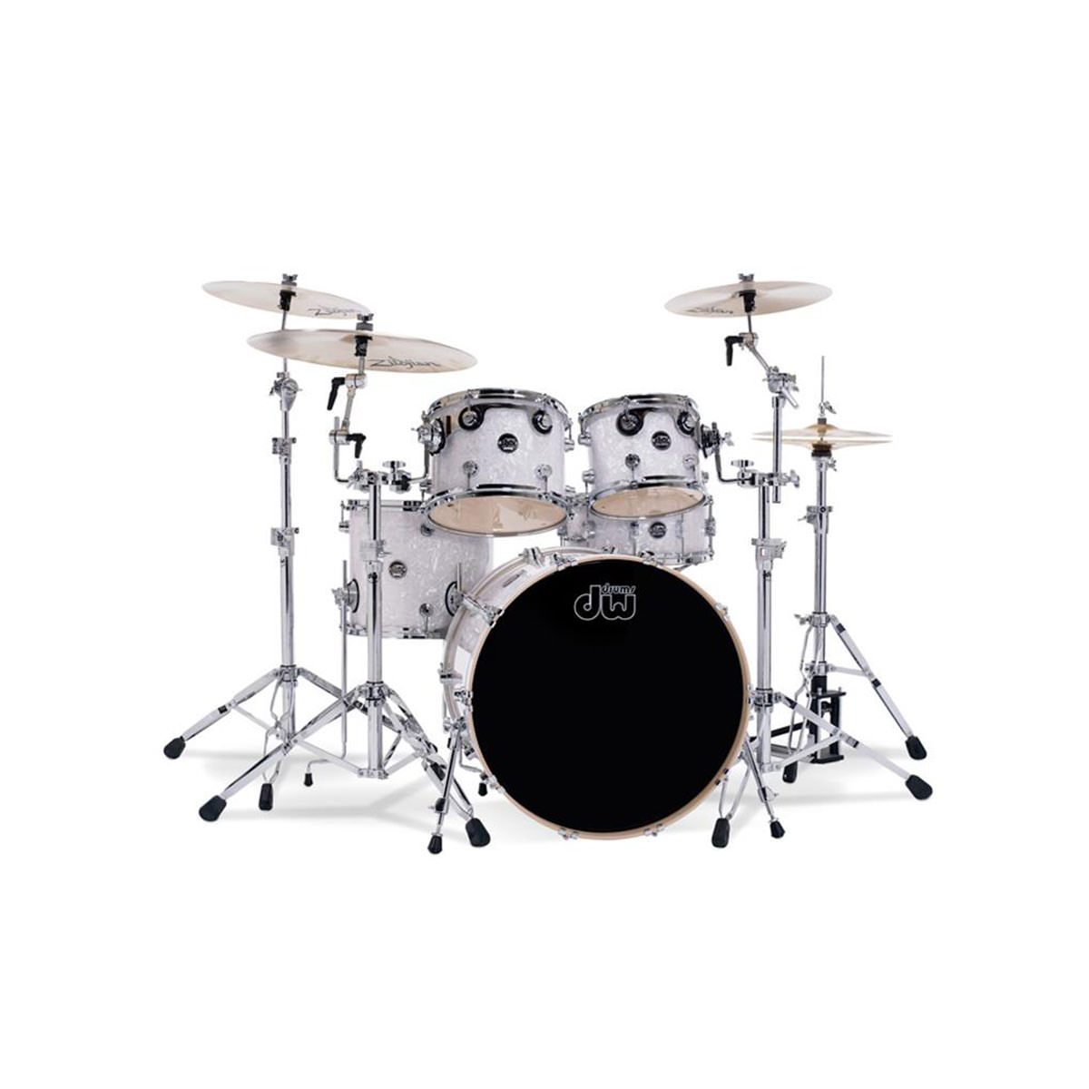 DW Performance 5 Piece Shell Pack - White Marine