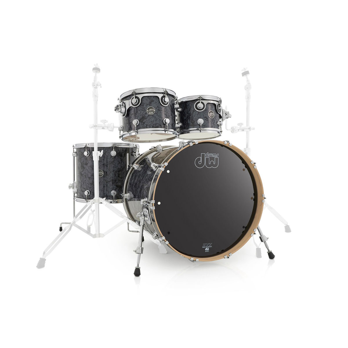 DW Performance Series - Black Diamond - 6 Piece - Shell Pack
