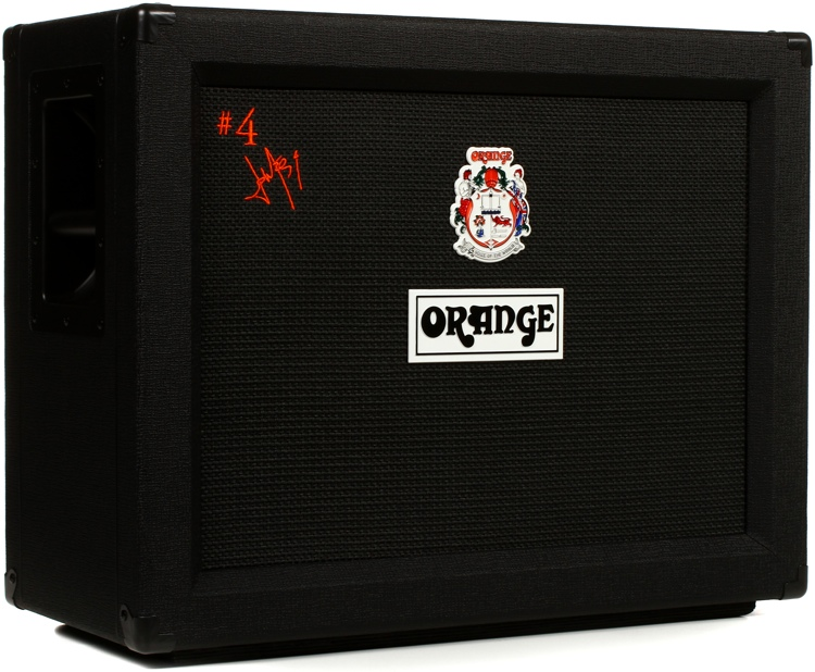 Orange Amplifiers Jim Root Signature 2x12 Closed-Back Guitar Speaker Cabinet