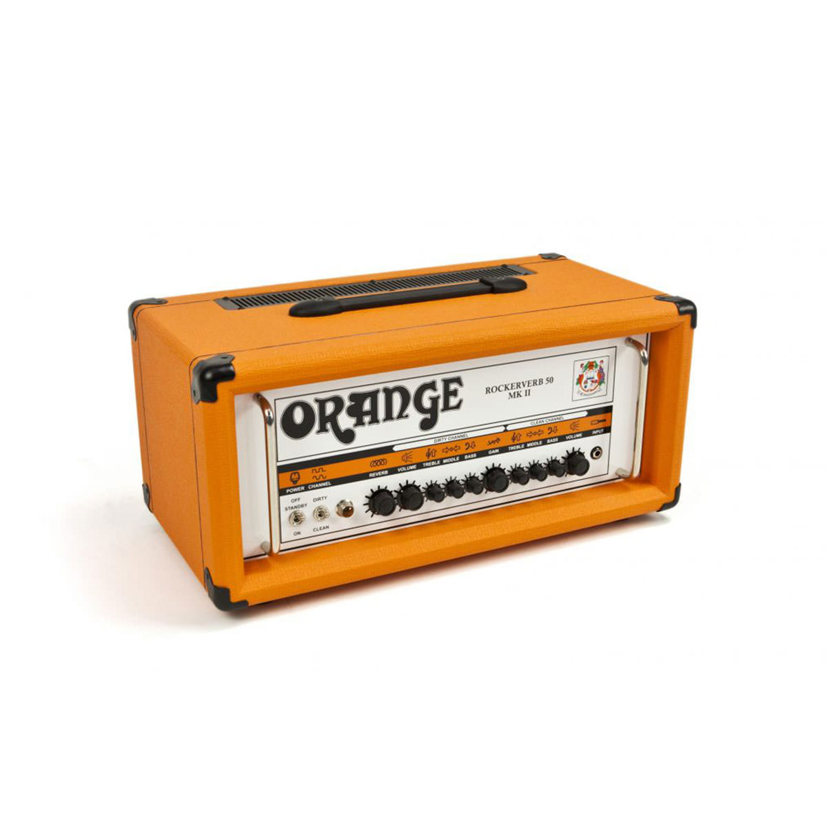 Orange Amplifiers Rockerverb Tube Guitar Amp Head - 50W