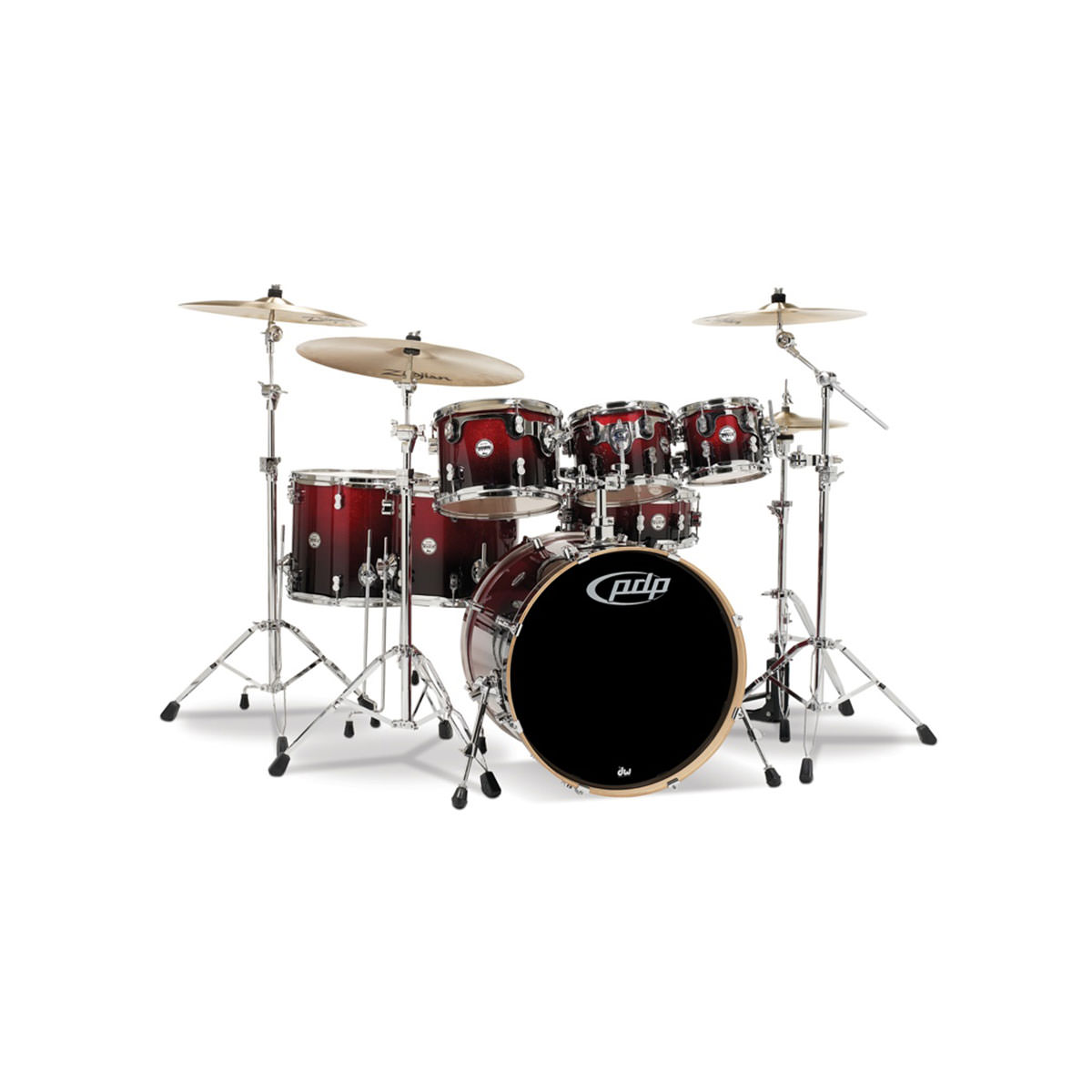 PDP Concept Maple 7 Piece (Excluding Cymbals)