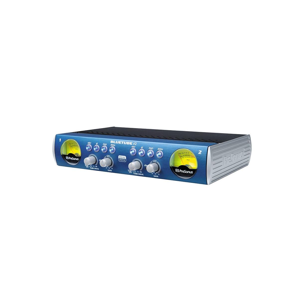PreSonus BlueTube DP V2 Microphone and Instrument Preamplifier