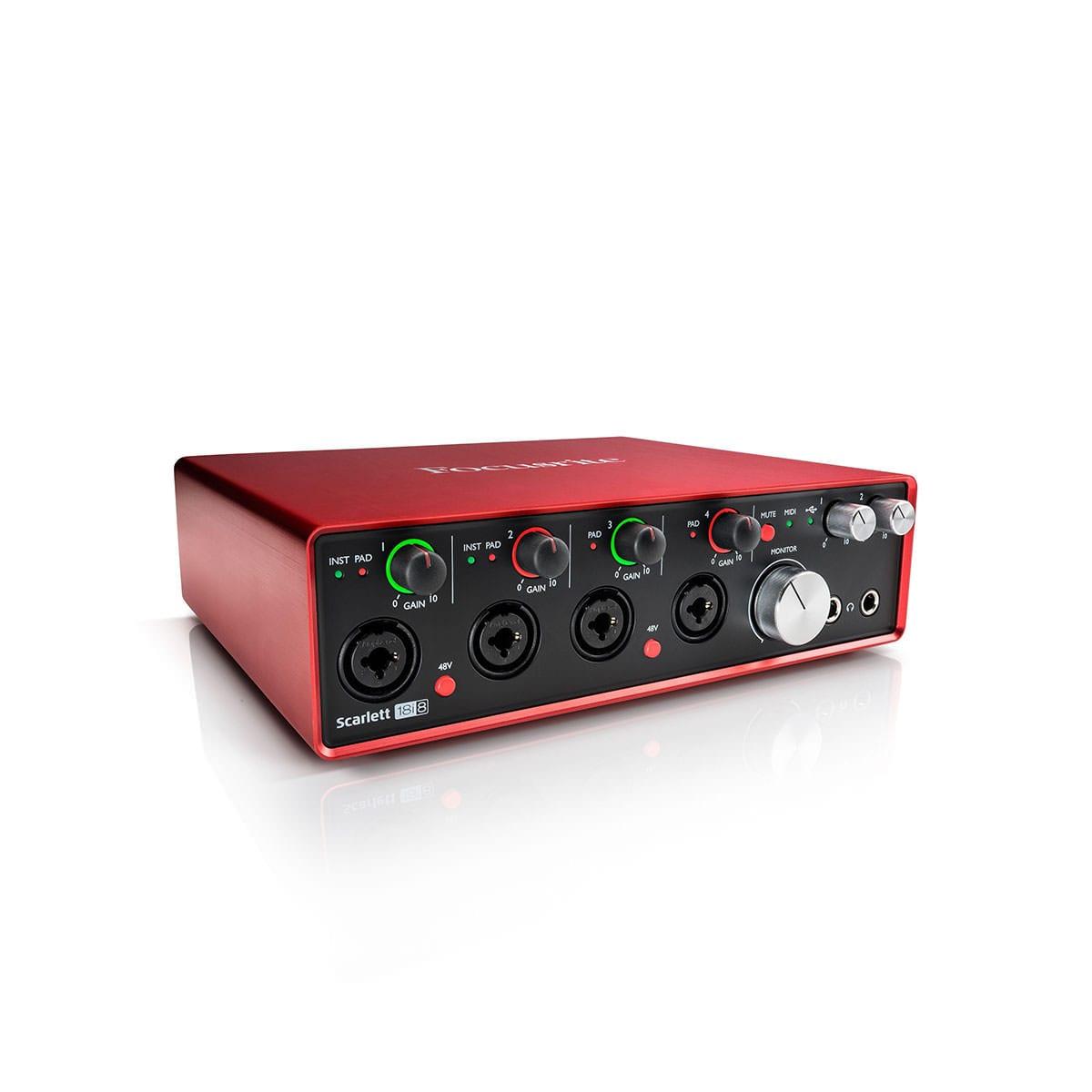 Scarlett 18i8 USB Audio Interface - 2nd Generation