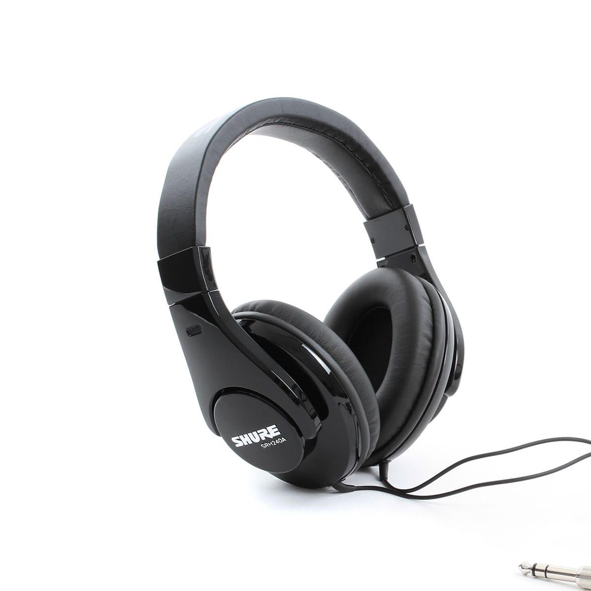 Shure SRH 240A Pro Studio Headphones 1