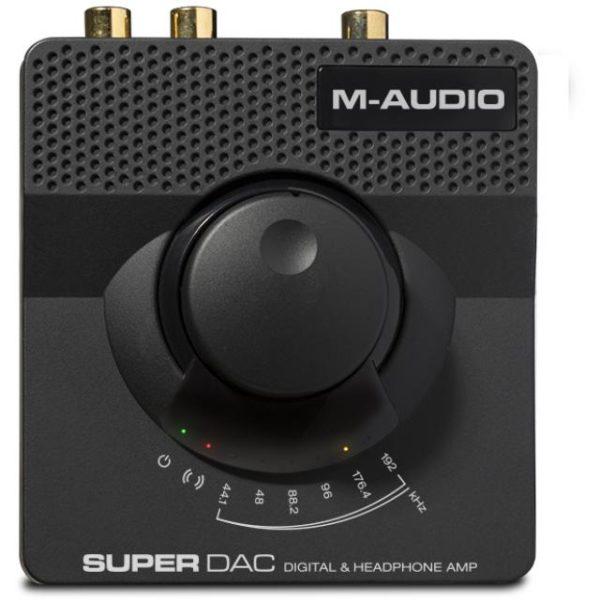 M-Audio Super DAC 24-bit/192kHz USB audio DAC with analog and di
