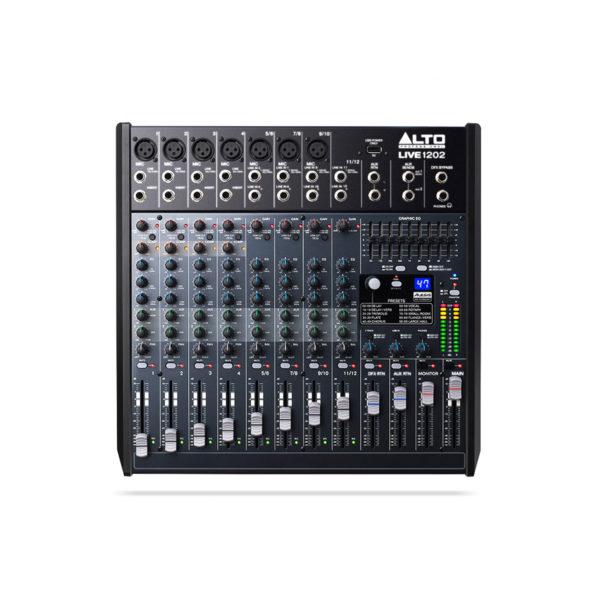Alto Live 1202 Professional 12-Channel-2-Bus Mixer